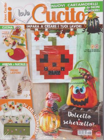I Love Cucito  Extra - n. 36 - bimestrale -agosto - settembre 2021 - 2 riviste