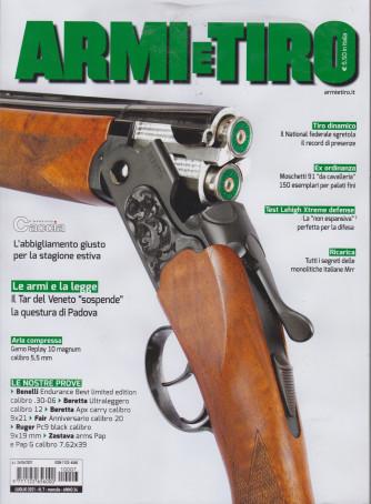 Armi e Tiro - n. 7- luglio  2021 - mensile
