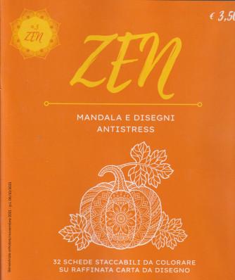 Zen Mandala e Disegni Antistress -n. 3 -  bimestrale - ottobre - novembre 2021 -