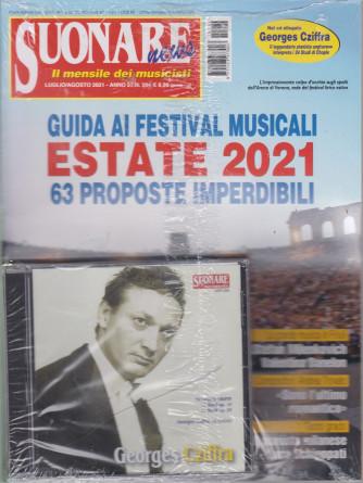Suonare News - + cd -   n. 284- mensile - luglio - agosto  2021 -