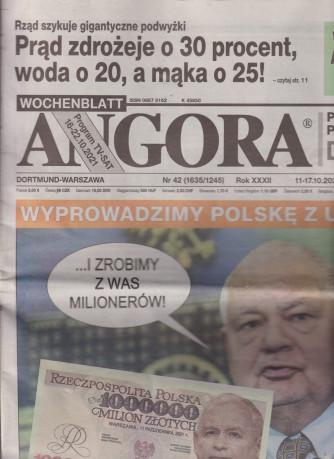 Angora - n.42 -11/17/10/2021- in lingua polacca