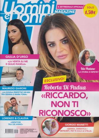 Uomini e Donne Magazine - n. 5 - settimanale -19  febbraio 2021