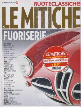 Ruoteclassiche - Le mitiche fuoriserie + Scoperte - n. 106 - maggio 2019 - 2 riviste