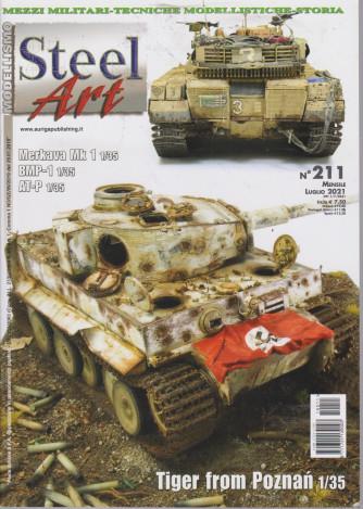 Modellismo Steel Art - n. 211 - mensile - luglio 2021