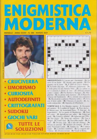 Enigmistica moderna - n. 389 - mensile -marzo  2021