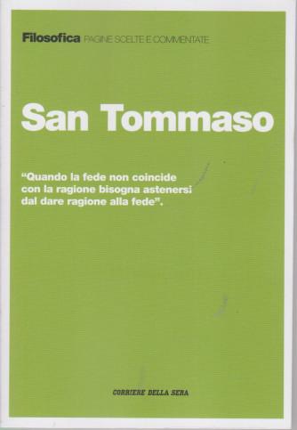 Filosofica  -San Tommaso - n. 21 - settimanale -223  pagine