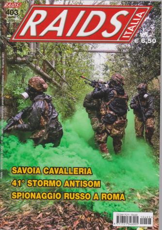 Raids - Italia - n. 403 -aprile  2021 - mensile