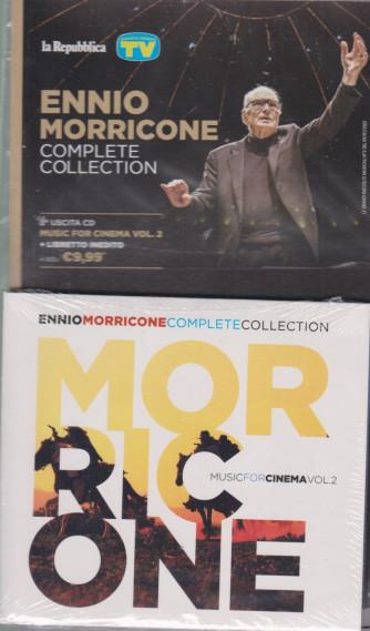 Gli speciali musicali di Sorrisi - n. 19 - 9/7/2021 -Ennio Morricone - Complete collection - seconda uscita cd Muisc for cinema vol. 2 + libretto inedito