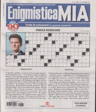 Enigmistica Mia - n. 38 - 20 settembre 2021 - settimanale