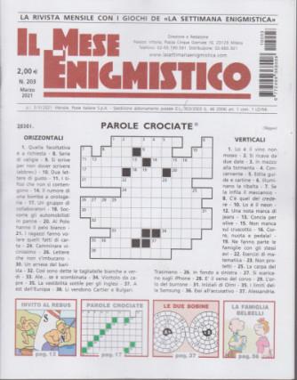 Abbonamento Il Mese Enigmistico (cartaceo  mensile)