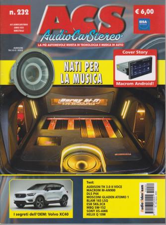 Acs - Audio Car Stereo - n. 232 - bimestrale - 26 marzo 2021