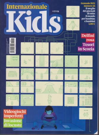 Internazionale Kids - n. 16 - mensile - 16 gennaio 2021