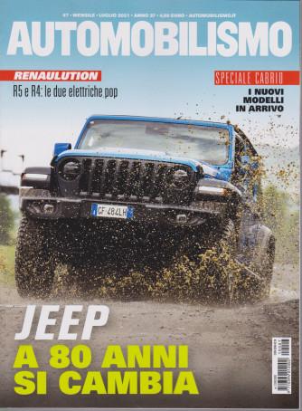 Automobilismo - n. 7 - mensile - luglio 2021