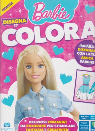 Barbie disegna e colora - n. 1 - marzo - aprile 2021 - bimestrale