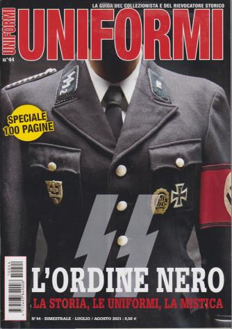 Uniformi - n. 44 - bimestrale - luglio - agosto 2021 - speciale 100 pagine
