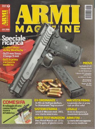 Armi magazine - n. 7 - luglio  2021 - mensile