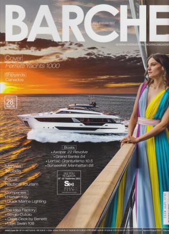 Barche - n. 8 - mensile -agosto -  2021 -italiano - inglese