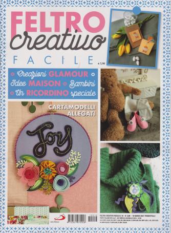 Feltro Creativo Facile - n. 16 - 18 marzo 2021- trimestrale