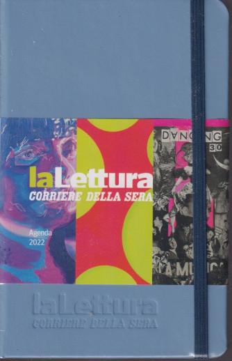 Agendina Letteratura - Agenda La Lettura 2022 -Corriere della sera -  mensile- 14,5x9 - con elastico