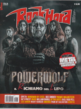 Rockhard Italia - n. 81 -2 luglio 2021 - mensile
