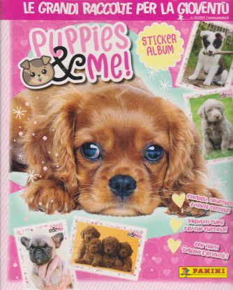 Puppies & me! - n. 1 - Sticker album