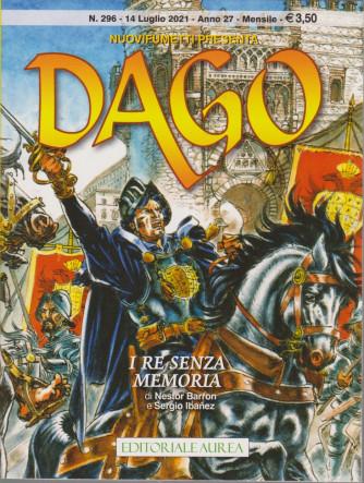 Nuovifumetti presenta Dago - I re senza memoria - n. 296 - 14 luglio 2021 - mensile