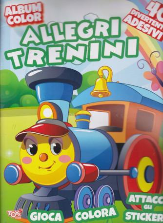 Toys2 Serie Oro - Album color -  Allegri trenini - n. 47 - bimestrale - 18 febbraio 2021