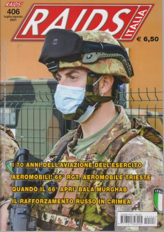 Raids - Italia - n. 406 -luglio - agosto   2021 - mensile