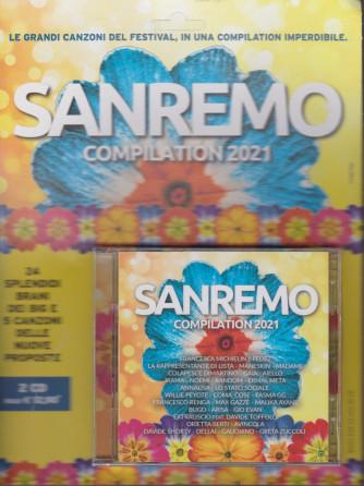 Sanremo compilation 2021 - 2 cd - n. 18 - aprile 2021