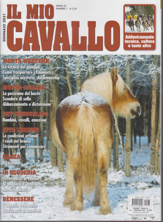 Il mio cavallo - n. 1  - gennaio 2021 - mensile