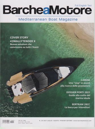 Barche a  Motore - n. 20-luglio - agosto  2021  - Full english text