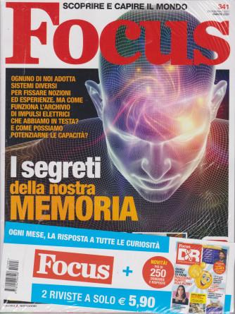 Focus + Focus D&R - n. 341 - marzo 2021 - 2 riviste