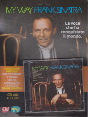 Cd Sorrisi Canzoni -n. 2-  My way - Frank Sinatra - 15/12/2020 - settimanale