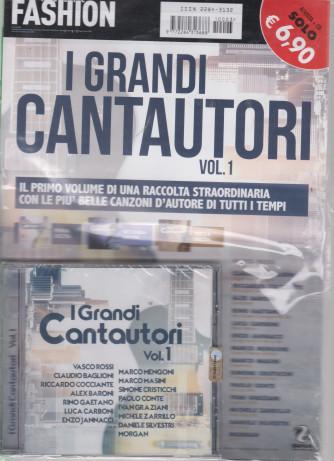 Music Fashion Var.68 -I grandi cantautori -  vol. 1 - rivista + cd -