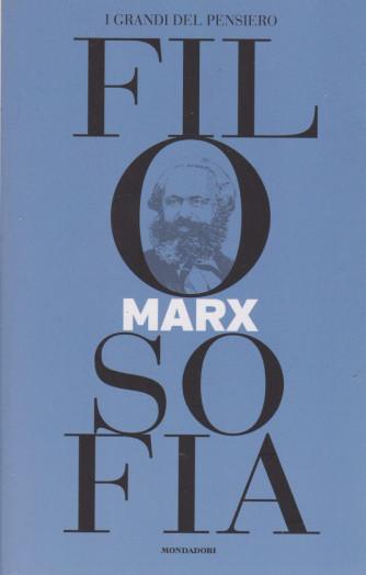 I grandi del pensiero - Filosofia - n.21 - Marx   -6/8/2021 - settimanale - 159 pagine