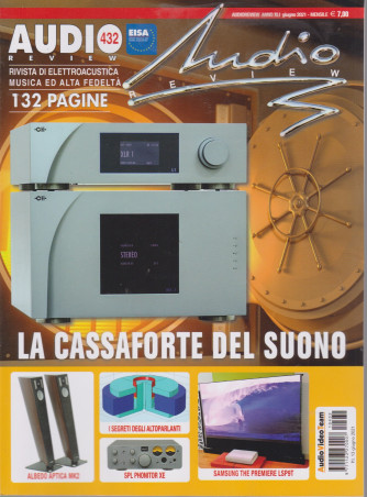 Audio review - n. 432- mensile - giugno 2021 - 132  pagine
