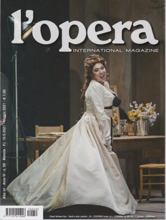 L'opera international magazine - n. 59 - mensile  - maggio  2021