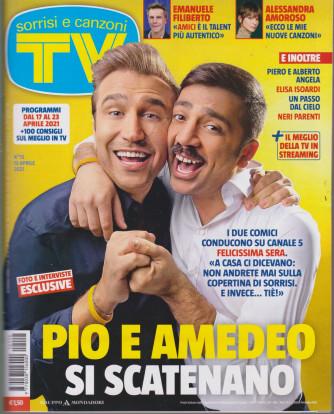 Sorrisi e Canzoni tv -n.  15 - settimanale -13 aprile 2021
