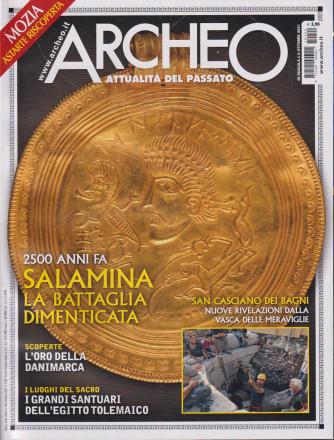 Archeo - n. 440- mensile -8 ottobre   2021