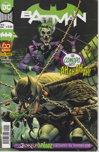 Batman -n. 22-  -  quindicinale - 29 aprile  2021