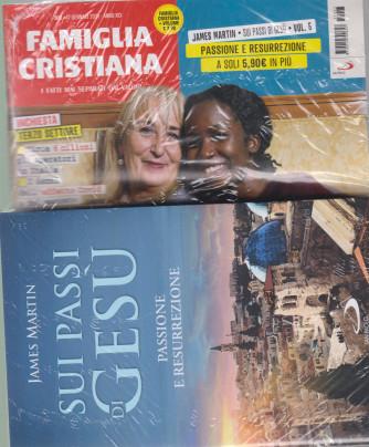 Famiglia Cristiana + il libro di James Martin - Sui passi di Gesù -Passione e resurrezione  n. 3- settimanale -17  gennaio 2021    - rivista + libro