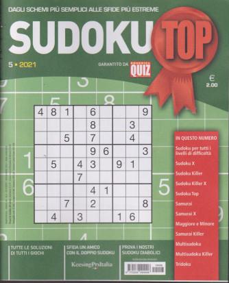 Sudoku Top - n.5  - ottobre - novembre  2021 - bimestrale