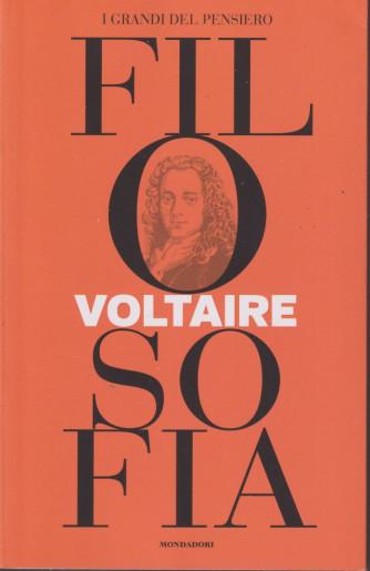 I grandi del pensiero - Filosofia - n.32 -Voltaire -22/10/2021 - settimanale - 159 pagine