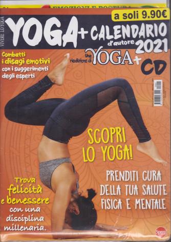 Vivere lo Yoga - + Calendario 2021 - + cd - Gatti nei fiori - n. 1 - marzo -aprile 2021 - bimestrale