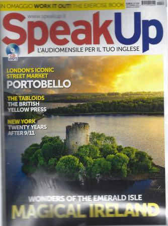 Speak Up - n. 438 -settembre  2021 - mensile - rivista + cd audio