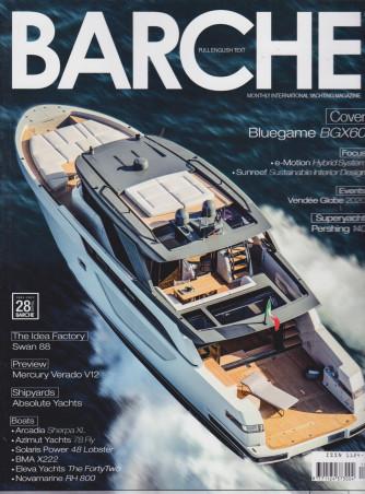 Barche - n. 4  - mensile -aprile  2021 - italiano - inglese