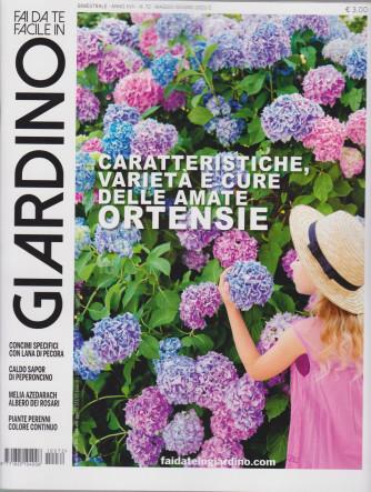 Fai da te facile in giardino - n. 72 - bimestrale - maggio - giugno  2021