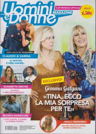 Uomini e Donne Magazine - n. 10 - settimanale -26 marzo 2021
