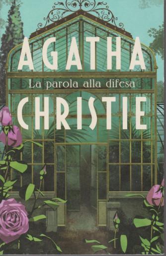 I grandi autori - n. 7 - Agatha Christie -La parola alla difesa - 9/2/2021- settimanale - 274 pagine
