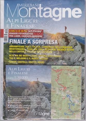 Meridiani Montagne - n. 109 -Alpi liguri e Finalese - bimetrale - marzo 2021 - rivista + Alpi d'acqua - 2 riviste